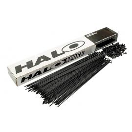 Halo pack de radios acero color negro