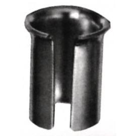 Casquillo adaptador tija de sillín 1mm de metal