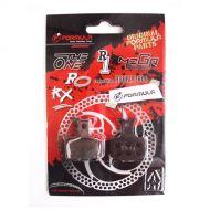 FORMULA Pastillas de freno semi-metálicas para modelos RX, MEGA, THEONE y R1
