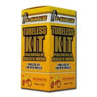 "X-SAUCE Kit Conversor Tubeless 27,5"""
