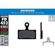 Galfer Pastillas de freno standard Shimano XTR, XT, SLX, Deore