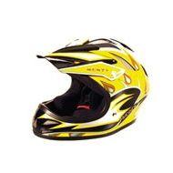 Monty Casco Homologado CE BMX Amarillo