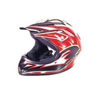 Monty Casco Homologado CE BMX Rojo