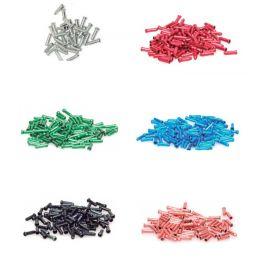 Terminales de cable de aluminio en diferentes colores. 1ud