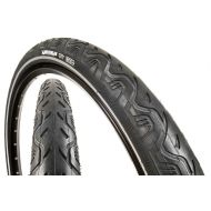 "Michelin City 26"" cubierta negra flanco reflectant"