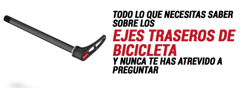 Aprende A Distinguir Los Ejes Traseros De Bicicleta The Bike Village