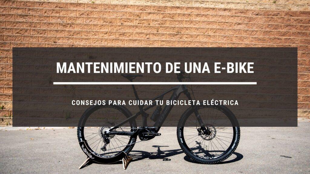 Mantenimiento básico de una bicicleta eléctrica