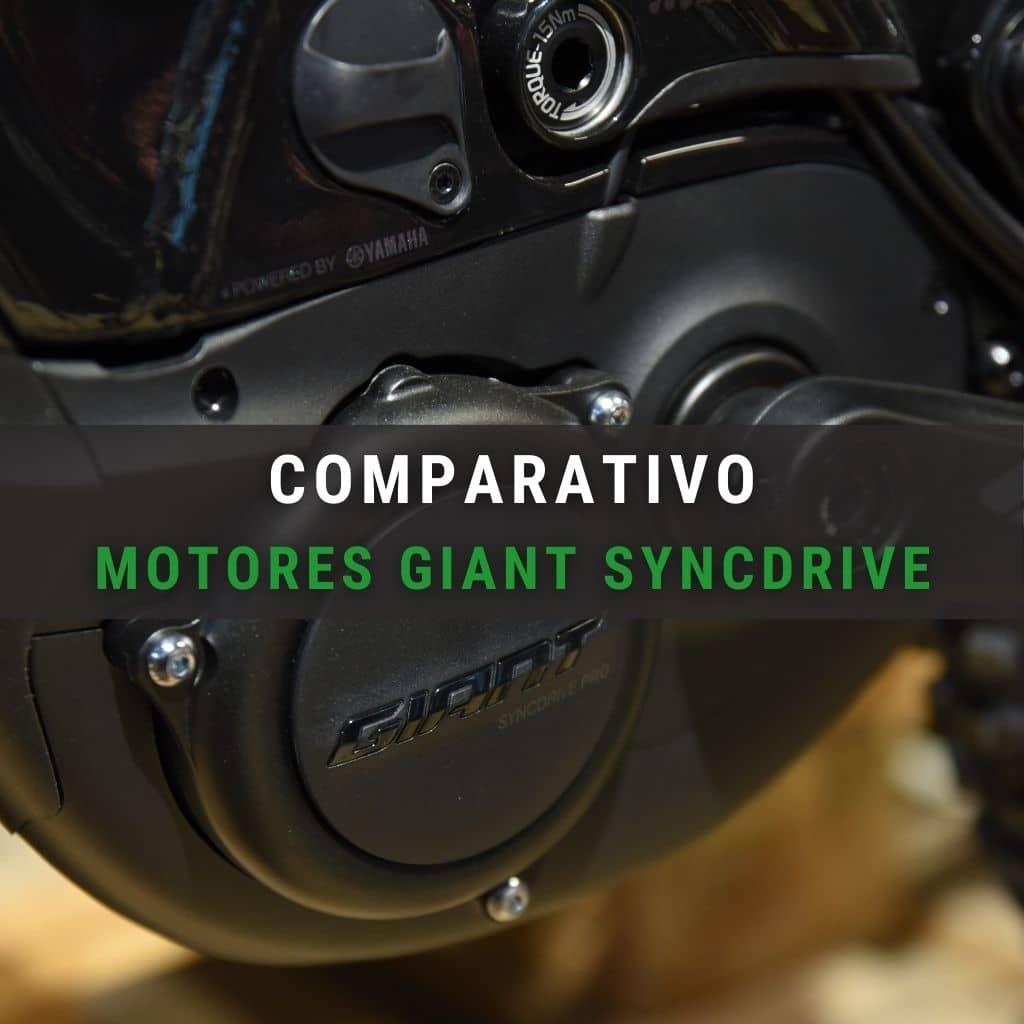 Comparativo de motores Giant Syncdrive