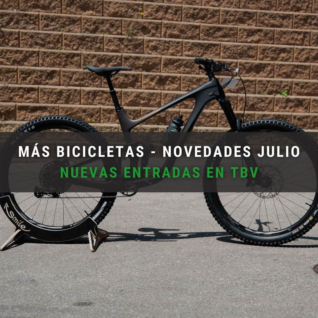 Bicicletas de mountain bike disponibles en julio de 2021