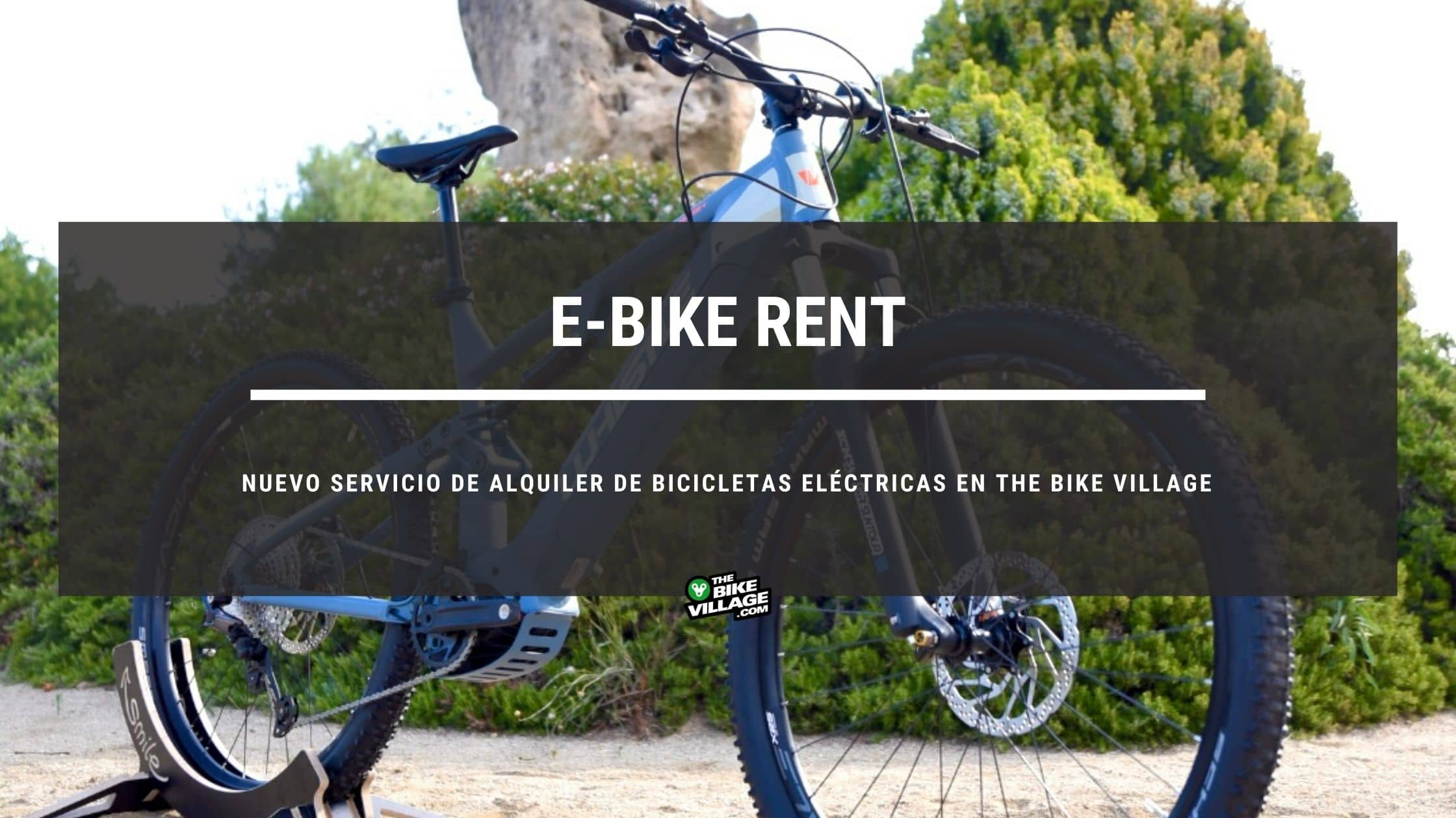 Servicio de alquiler de bicicletas eléctricas E-Bike Rent