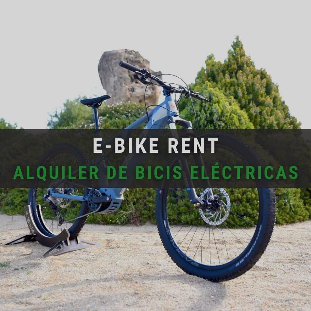 Nuevo servicio de alquiler de bicicletas eléctricas E-Bike Rent