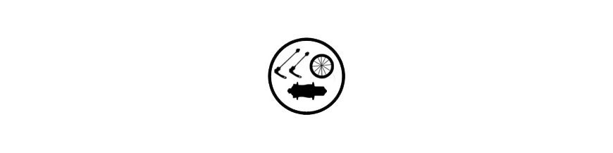 Ruedas bicicleta carretera completas, neumáticos, cámaras, tubeless